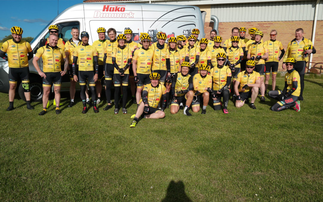 Hako Danmark støtter Team Rynkeby