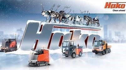 Glædelig jul og godt nytår fra Hako Danmark