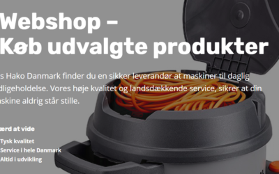 Hako Danmark – Nu som webshop