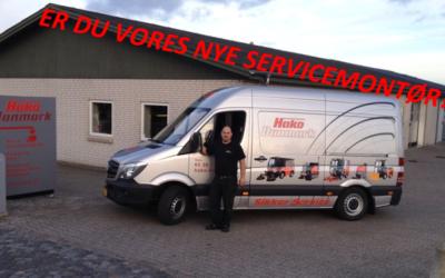 Vi søger servicemontør i Nordjylland!